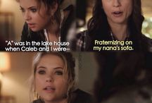 Pll, Hanna and Spencer quotes