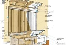 Entry coat rack