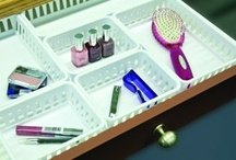Bed & Bath Storage / Sterilite's best solutions for your bathroom storage needs.