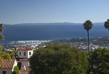 """Santa Barbara Life / Stunning rooftop visuals as well as rental homes available in what is commonly know as the """"American Riviera."""""""