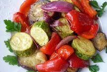 Овощи запеч. в духовке