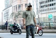 ByTheR- Modern Urban Casual Classy Neat Looking Street Style Ex-Special Force Agent Men's Fashion / http://en.byther.kr/