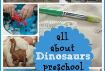 Dinosaurs! Preschool / by Julia Butina