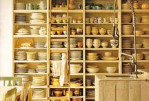 Cottage kitchen ideas / Lovely, may not work for Kidd Cottage, but I can try