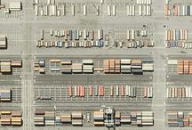 aerial map art project / aerial photography and maps / by robin detweiler allen