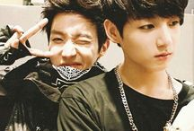 0. Bts J-hope and JungKook