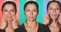 exercícios rosto