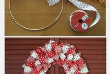 Bow wreath / by Valerie Lawson Janney