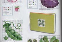 Ponto Cruz - Legumes e Verduras
