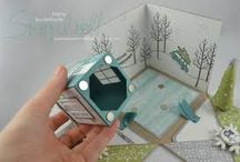 explosionsboxen / basteln, kreativ, papier