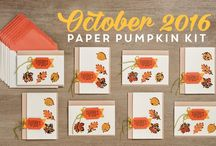Paper Pumpkin October 2016 - Season of Gratitude / Paper Pumpkin October 2016