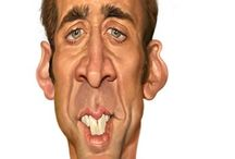Caricatures / Well known people