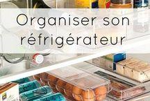 Organisation de réfrigérateur