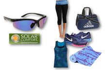 Here's to an active and healthy 2014!  / SolarComfort sunglasses are designed with the active person in mind. They are very comfortable, polarized to eliminate blinding glare and block out 100% of UV rays. They have an aerodynamic design to maximize performance and a price that can't be beat.