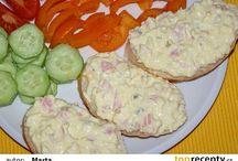 studená kuchyně, pomazánky, saláty