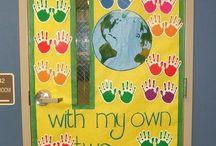 classroom door decoration - διακόσμηση πόρτας