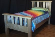 Beds by Benham Design / Custom beds and headboards handcrafted by Brian Benham
