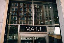 Maru Restaurant / Serving Michigan the finest sushi, grills and cocktails. For more : @marurestaurant + http://www.marurestaurant.com
