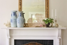 Fireplaces/Mantels / by Donna Perez