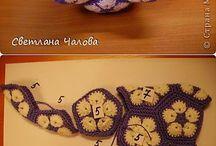 African flower chrochet
