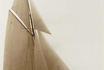 Classic Big Boat sailing