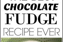Fudge and sweet things