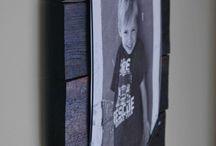 fotorame en muur decor