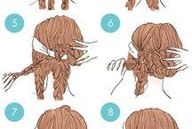 Penteados sara