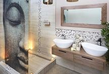 Bathroom Tile Ideas / Make your bathroom look more beautiful with a charming tile