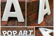 Industrial - Letters Marquee