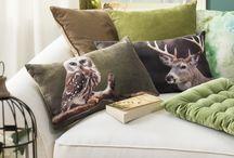 Highland / Mit unserer Serie im Highland-Design die schönsten Grün- und Blautöne von Petrol bis Mint entdecken, einen Streifzug durch Wälder, Moore und Seen machen und die nordische Tierwelt erkunden. So schnell hält das schottische Hochland Einzug in die eigenen vier Wände.