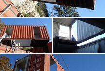 Containeers / Idéias criativas na utilização de containers.