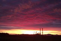 Silverwood Sunset / North Idaho is home of some of the most beautiful sunsets you will ever see.