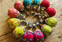 Fabric Jewellery / Ideas