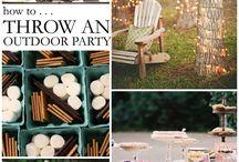 Outdoor party decor ideas