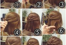 Trick and tips for hair