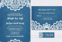Country wedding celebration / Denim and lace country wedding rustic wedding reception