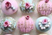 Wedding cupcake / Daniel and Sandy
