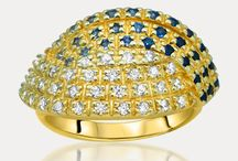 14K Gold over 875 Silver Rings