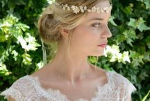Our Wedding Hair Accessories / From delicate floral hairvines to statement Great Gatsby style side headpieces we have a selection of bridal hair accessories to make you swoon. Shop online at www.misswhitebride.com