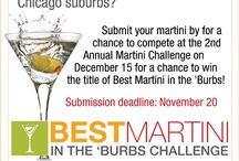 We Need Your Votes! / Help Hopvine's master mixologist, Chris, win us the best martini in the burbs contest through the Daily Herald!