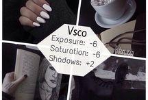 Фильтры. VSCO