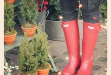 Hunter Boot Love / Proof of my obsession with Hunter boots. / by Krayl Funch / An Appealing Plan