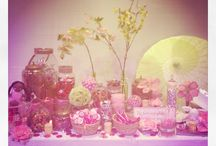 Baby shower candy table / It's a girl / by Erin Hundley