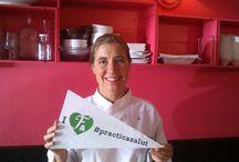 #practicasalut / Bona alimentació i pràctica d'activitat física són la clau pel #practicasalut t'hi apuntes?