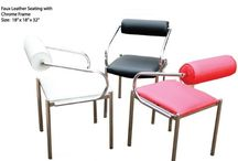 Waiting chairs / Salon furniture is important for any salon business along with comfortable waiting zone. Waiting chair plays a vital role to make customer more relax while waiting for his or her turn.
