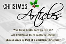 Christmas Articles / Articles addressing common questions about Christmas.