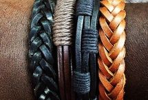 Leather braclets for men / Accessories