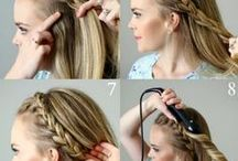 simple hairstyle for school