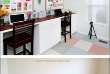 Work Shop/Craft Room/Office Space / Ideas to organize  / by Cindy Forrester